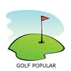 golf popular